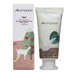 Aromanice Goat Milk Hand CreamShea ButterDaily Nourishing Moisturizing60ML2 Oz *** You can find more details by visiting the image link.