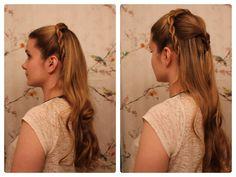 .GOT Hair Idea: House Tyrell Rope Braids.