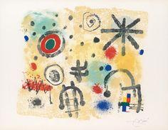 JOAN MIRÓ - Signes et Météores (1958)