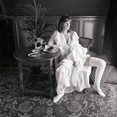 Anni-Frid Lyngstad always sexy BW photoshoot. #Anni-Frid Lyngstad #frida #abba