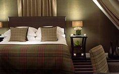 Standard Double room. Boutique Hotel Rooms in Edinburgh - Malmaison Hotels