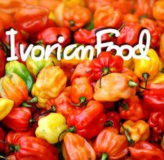 Excellent début de semaine! Avec beaucoup de piments!  #IvorianFood!