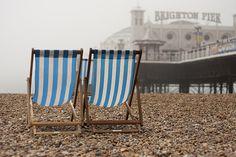 Brighton Pier and Brighton Beach. Takes me back to the 90's.