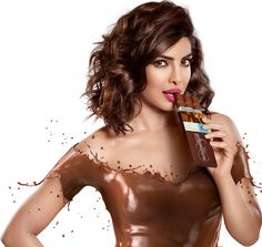 PeeCee covered in shiny, yummy Chocolate. - Bollywood Reporter