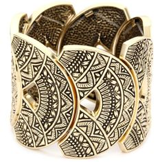 "Bronzed by Barse ""Mayan"" Adjustable Bracelet ... endless.com"
