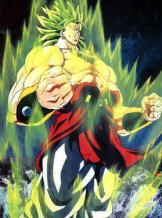 Broly The Legendary Super Saiyan Dragonball Z Goku Saga Naruto