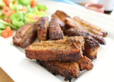 I'm so excited about this delicious new recipe! Crispy Summer Pork Belly it's… Pork Belly Recipe Oven, Pork Belly Recipes, Bacon Recipes, New Recipes, Cooking Recipes, Slow Cooking, Recipies, Asian Recipes, Smoker Recipes