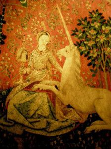 Cluny Museum The Lady and the Unicorn tapestry #Paris