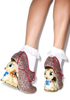 Irregular Choice Bambi Fawn Heel | Dolls Kill