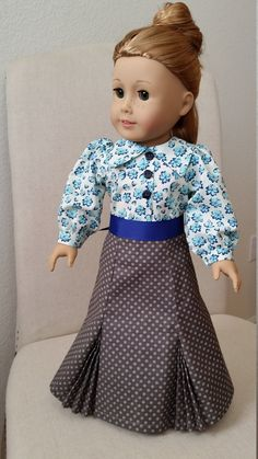 6885cd0b98 Historical skirt and blouse for 18
