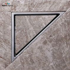 $39 Total Hidden Type Triangle Tile Insert Floor Waste Grates Bathroom Shower Drain ,304 Stainless Steel Floor Drain