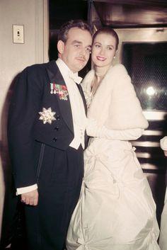 Prince Rainier and Prince Grace.