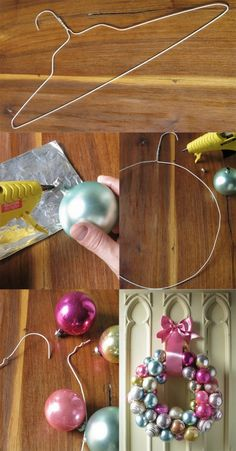 Decorate Your House with New Year Crafts - New Year wreath of lights