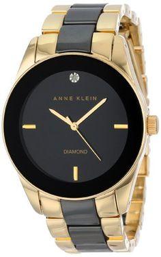 Reloj Anne Klein Diamantes acentuados AK / 1436BKGB   | Antes: $360,000.00, HOY: $279,000.00