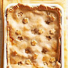 Classic Chicken Pot Pie From Better Homes and Gardens, ideas and improvement projects for your home and garden plus recipes and entertaining ideas.