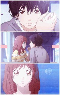 "Ao Haru Ride ""Do you still love me?"" (◕//△//◕✿)"