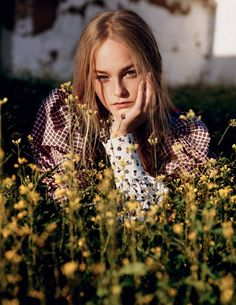Country Life: Jean Campbell by Alasdair McLellan for Vogue UK March 2016 - Spring 2016