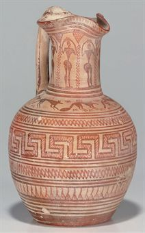 A GREEK POTTERY OINOCHOE