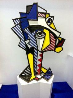 Roy Lichtenstein sculptures…