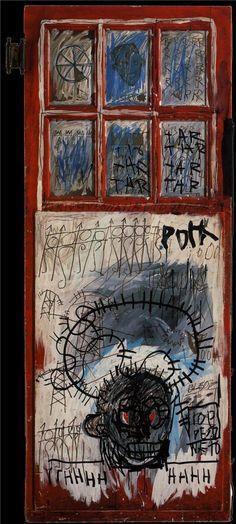 Pork Sans - Jean-Michel Basquiat - WikiPaintings.org