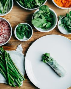 Recipe: Vietnamese-Style Spring Rolls — In Like a Lion: Feisty Spring Recipes from Brooklyn Supper