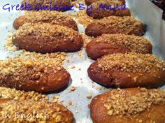 Greek Cuisine By Anna: Μελομακάρονα (Melomakarona)-Small honey cakes http://greekcuisinebyanna.blogspot.gr/2014/12/melomakarona-small-honey-cake.html?spref=tw#.VJr9LcSBA
