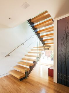 lois lane contemporary-staircase