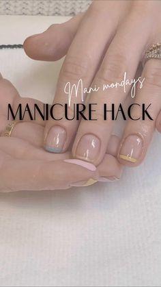 Cute Acrylic Nails, Cute Nails, Pretty Nails, Nail Art Designs Videos, Nail Designs, Minimalist Nails, Dream Nails, Stylish Nails, French Nails