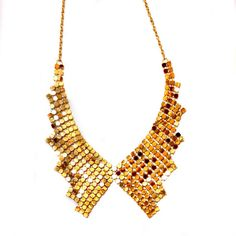 Trendy, Modern Elegant, for special occasions, Gold, Paillette Mesh