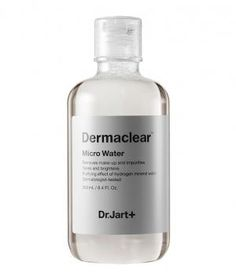Dr. Jart+ Dermaclear Micro Water: Aside from the fact that it feels nice on skin, this gentle cleansing water also does an outstanding job removing stubborn makeup. Saturate a cotton pad with this soothing formula (it's made with 85 percent active mineral water) and sweep it over your face to cleanse and tone skin in one step.