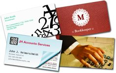 Accounting Business Cards 2