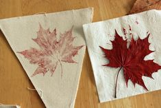 Leaf stamped banner for Fall decorating Thanksgiving Crafts, Fall Crafts, Diy Crafts, Disney Activities, Craft Activities, Fall Wedding Decorations, Halloween Decorations, Canada Day Crafts, Easy Art For Kids