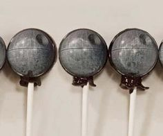 Death Star Lollipops $13.00