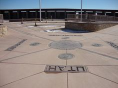 Four Corners Monument - Picture of Four Corners Monument, Teec Nos Pos ...
