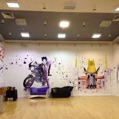 Blule's art in the main recording studio at Paisley Park, click to see more BEAUTIFUL work of the studio ♥ (G.T.)