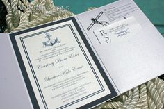 Nautical Wedding Invitations  Tying the by InspirationsbyAmieLe, $50.00