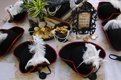 Pirate theme party-Find everything you need and more to throw the best pirate party at any of our Dollars and Cents stores. 5th Birthday Party Ideas, Party Themes For Boys, Pirate Birthday, Pirate Decor, Pirate Theme, Pirate Party, Caribbean Party, Sweet 16 Parties, Throw A Party