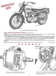 Details about TRIUMPH Brochure T120 T120R T120TT TR6 TR6C