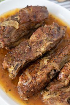Oven Pork Ribs, Ribs Recipe Oven, Baked Pork Ribs, Boneless Pork Ribs, Beef Ribs, Easy Oven Baked Ribs, Country Style Ribs Oven, Country Ribs Recipe, Country Style Pork Ribs
