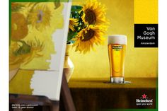 Dutch icons combine their forces: Heineken new sponsor of the Van Gogh Museum