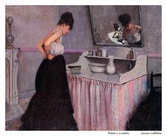 Gustave Caillebotte Femme à sa toilette