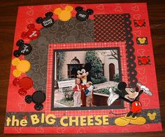 Layout: Disney The Big Cheese 1987