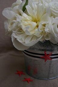 Melanie Bloomers Florals: nautical wedding centerpieces