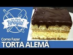 Ana Maria Brogui #222 - Como fazer Torta Alemã