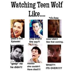 Image result for teen wolf background funny cast season 6