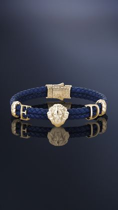 This solid gold men's leo leather bracelet can be personalized with two or three letters. Choose your leather and gold colours too. Deliverable in gold, gold or gold. Mens Gold Bracelets, Jewelry Bracelets, Men's Jewelry, Gold Bracelet For Women, Bracelet Men, Jewellery, Women Jewelry, Fashion Jewelry, Black Gold Jewelry