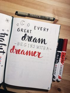 ☆ ☆ ☆ ☆ ☆ every Great dream starts with a dreamer