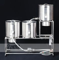 Home Beer Brewing System Handbuilt by Synergy Brewing Systems. $2,800.00, via Etsy.