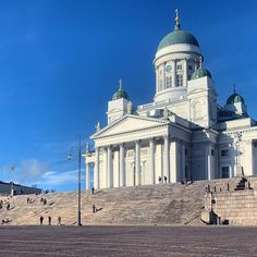 A view of from via Helsinki, Finland, Taj Mahal, Cathedral, Building, Travel, Instagram, Viajes, Buildings