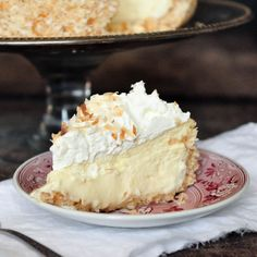 Coconut Cheesecake - Foods of Our Lives I need an occasion... And the time to make this!  My mouth was watering reading the recipe!